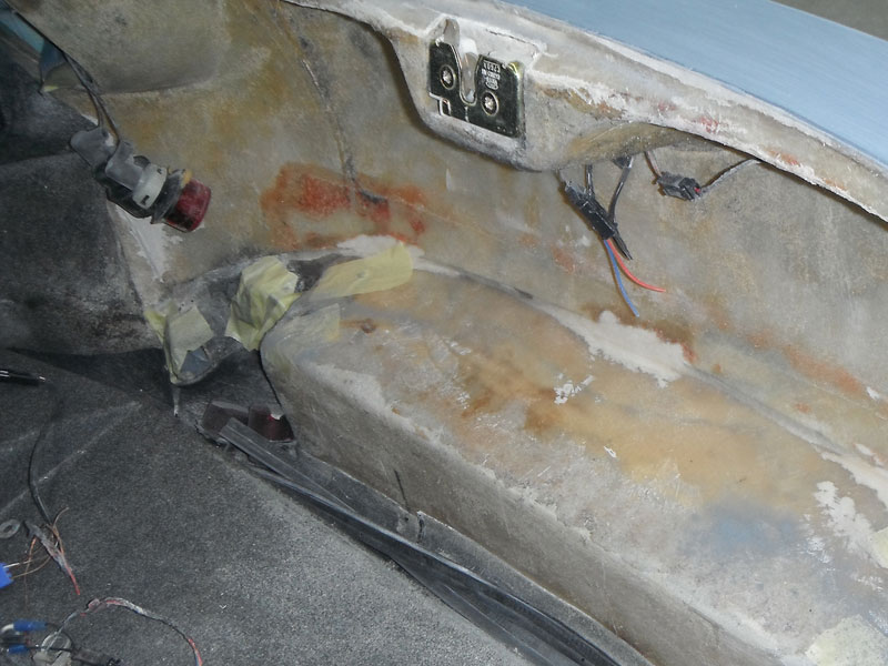 TVR Body Patch Repair