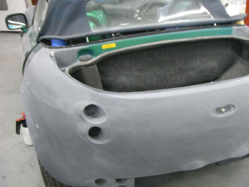 TVR Body Boot Repair